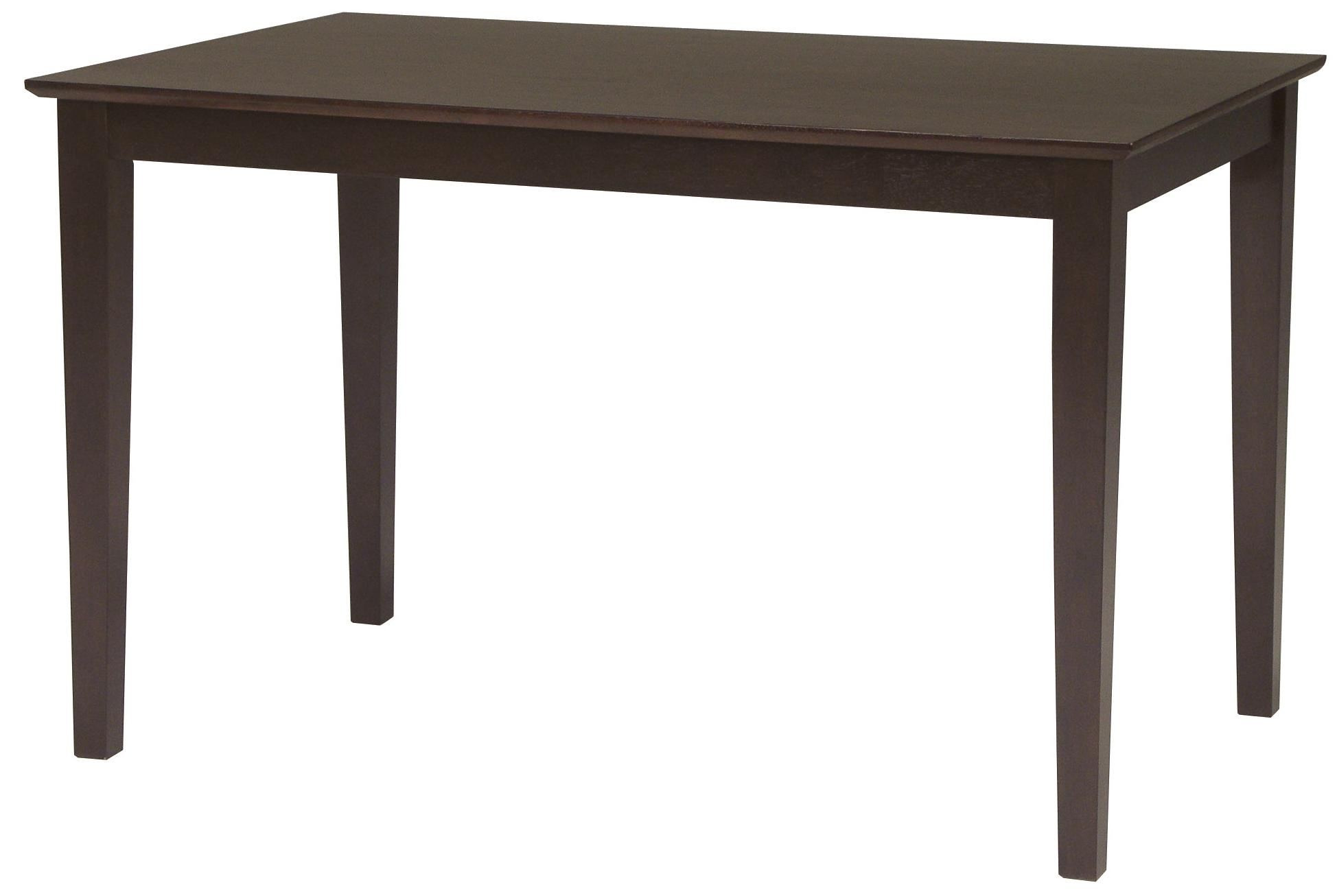 John Thomas Dining Essentials Contemporary Rectangular Dining Table - Item Number: T15-3048S
