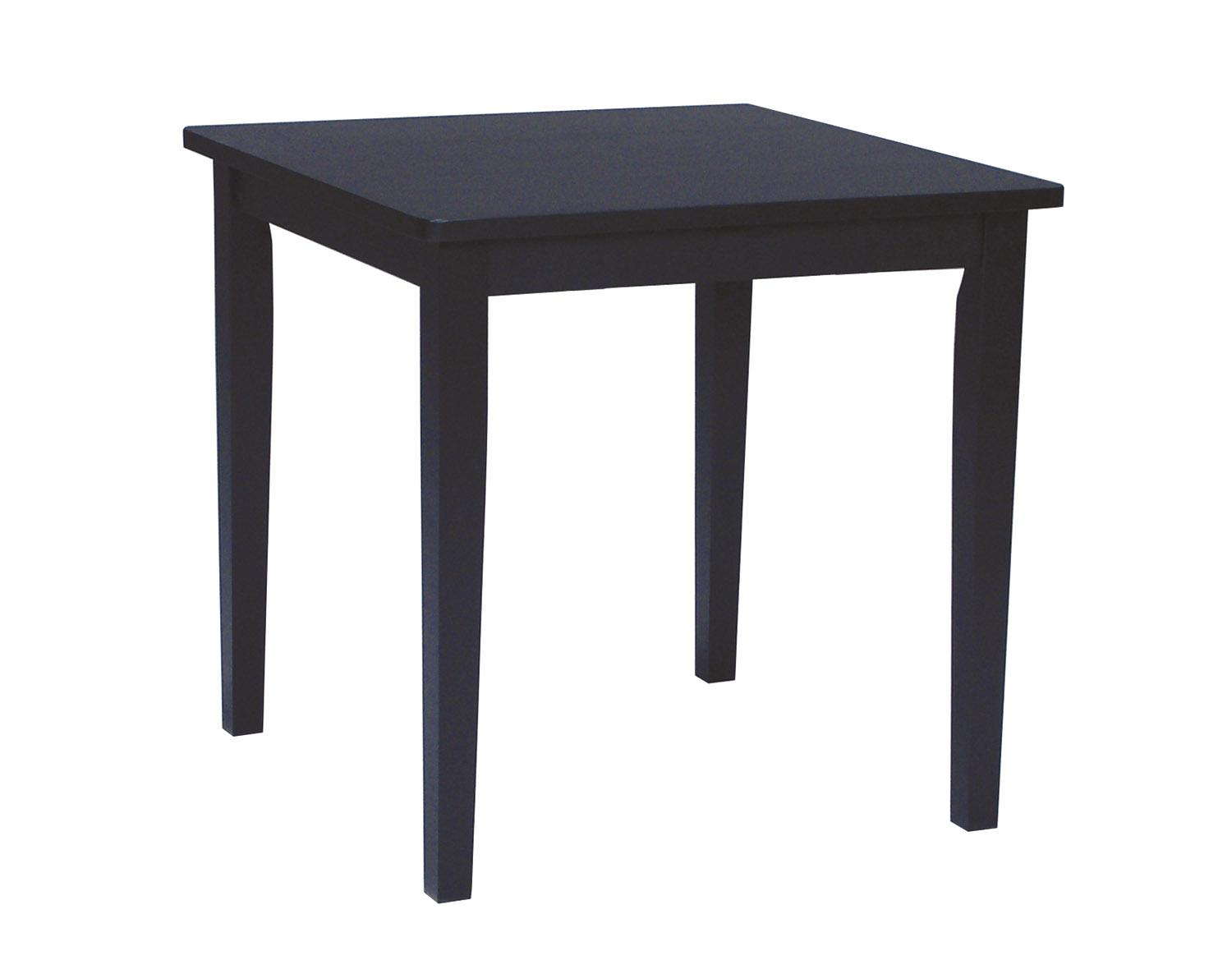 John Thomas Dining Essentials Casual Square Table - Item Number: T46-3030