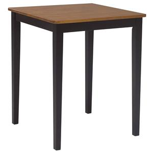 John Thomas Dining Essentials Contemporary Square Pub Table