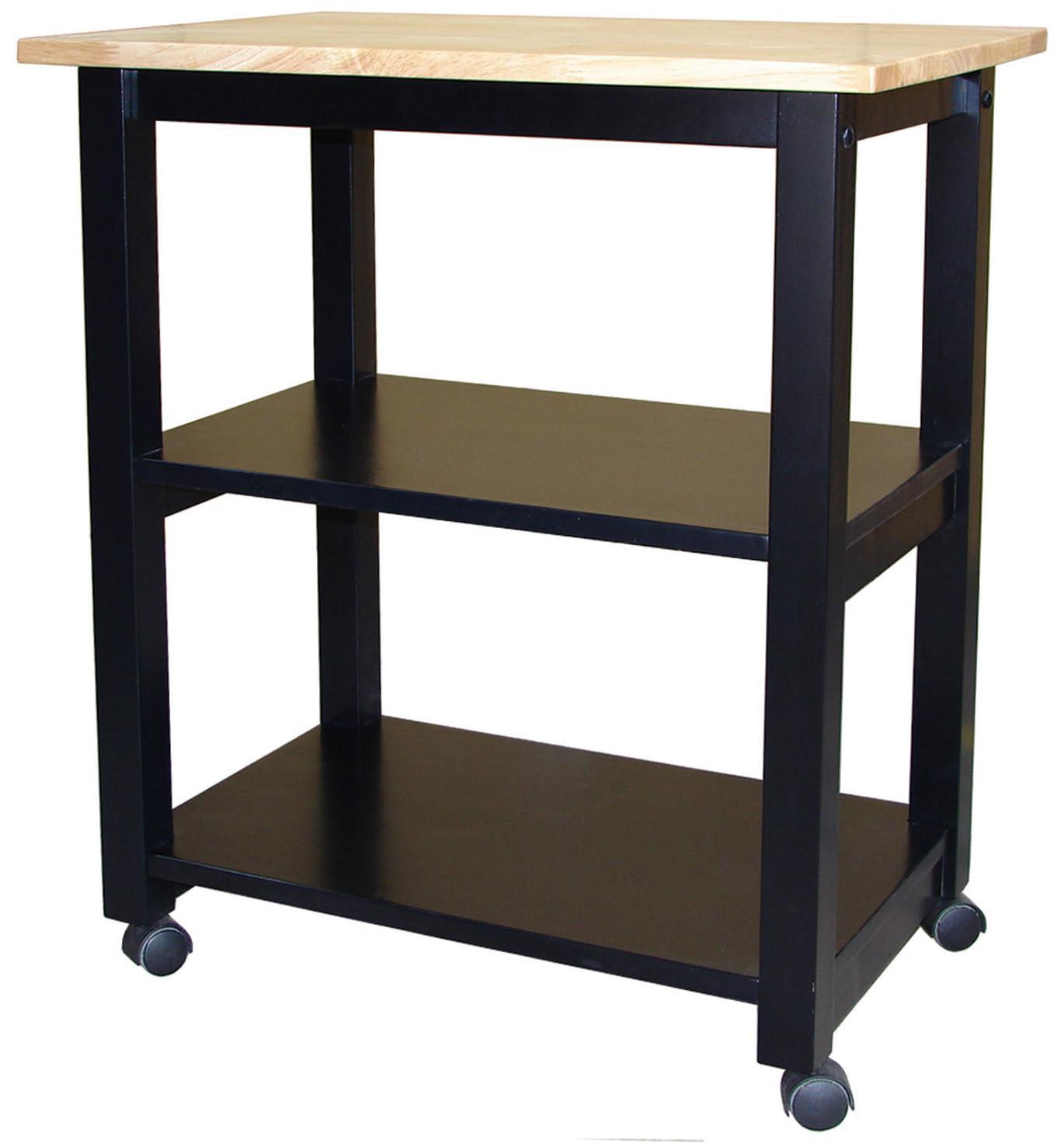 John Thomas Dining Essentials 2-Shelf Kitchen Cart - Item Number: WC10-185