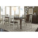 John Thomas Luxe Formal Dining Room Group - Item Number: 13 Dining Room Group 2