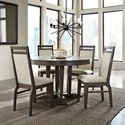John Thomas Luxe Table and Chair Set - Item Number: C13-52+T13-248