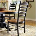 John Thomas Madison Park Ladderback Chair - Item Number: C57-271