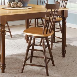 John Thomas Madison Park Spindleback Stool