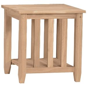 John Thomas SELECT Home Accents Mission End Table