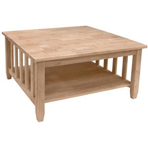 John Thomas SELECT Home Accents Mission Square Coffee Table