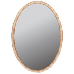John Thomas SELECT Home Accents Oval Hanging Mirror