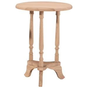 John Thomas SELECT Home Accents Round Plant Table