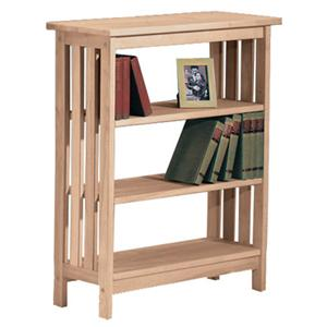 John Thomas SELECT Home Accents 3-Shelf Mission Bookcase