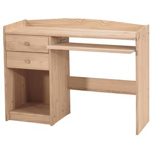 2-Drawer Computer Desk with Keyboard Tray