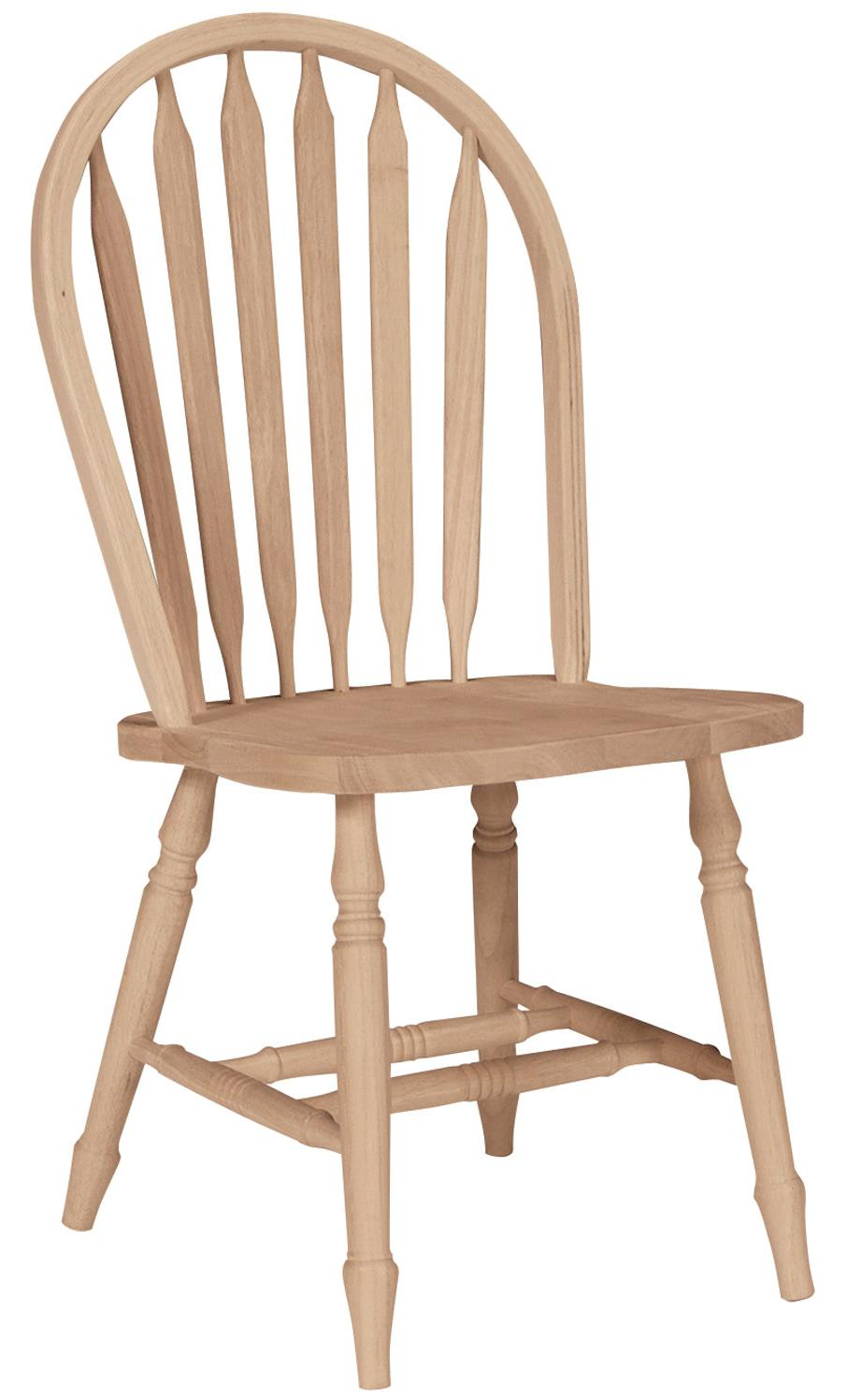 John Thomas SELECT Dining Arrowback Windsor Chair with Turned Legs - Item Number: 113T