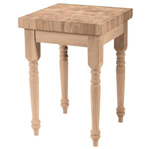 John Thomas SELECT Dining Butcher Block Island
