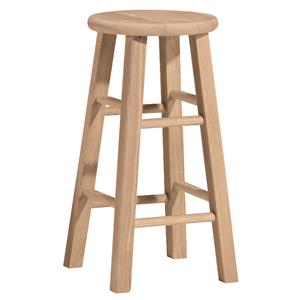 "John Thomas SELECT Dining 24"" Round Top Stool"