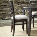 John Thomas SELECT Dining Emily Side Chair with Ladderback