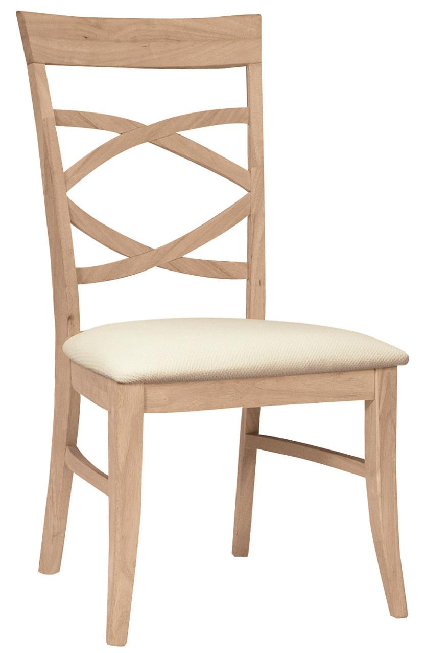 Milano Chair with Seat Cushion