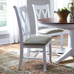 John Thomas SELECT Dining Double X-Back Chair