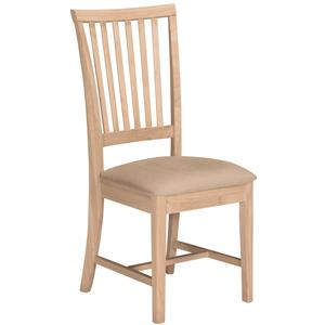 John Thomas SELECT Dining Mission Chair with Seat Cushion