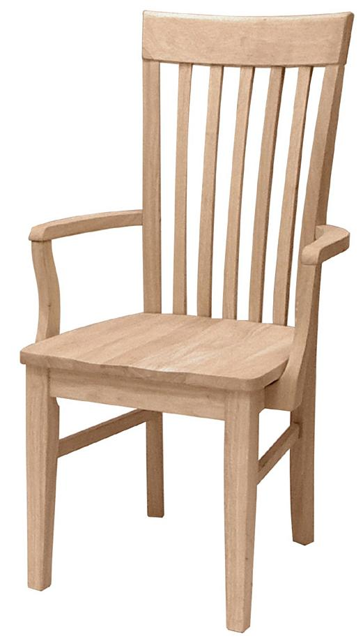Tall Mission Arm Chair
