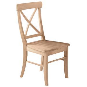 John Thomas SELECT Dining X-Back Chair