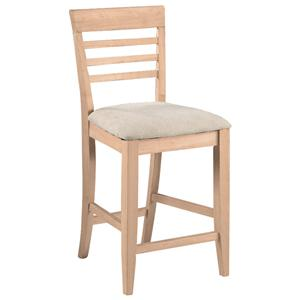 "John Thomas SELECT Dining 24"" Roma Stool"