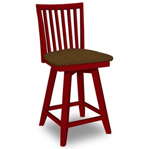 John Thomas SELECT Dining Swivel Counter Stool