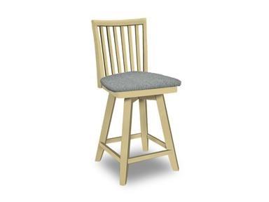 SELECT Dining Swivel Bar Stool by John Thomas at Baer's Furniture