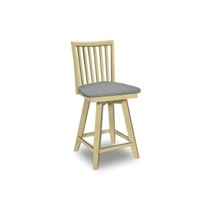 John Thomas SELECT Dining Swivel Bar Stool