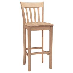 "John Thomas SELECT Dining 30"" Slatback Stool"