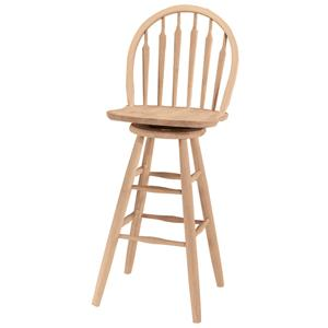 "John Thomas SELECT Dining 30"" Arrowback Windsor Stool"