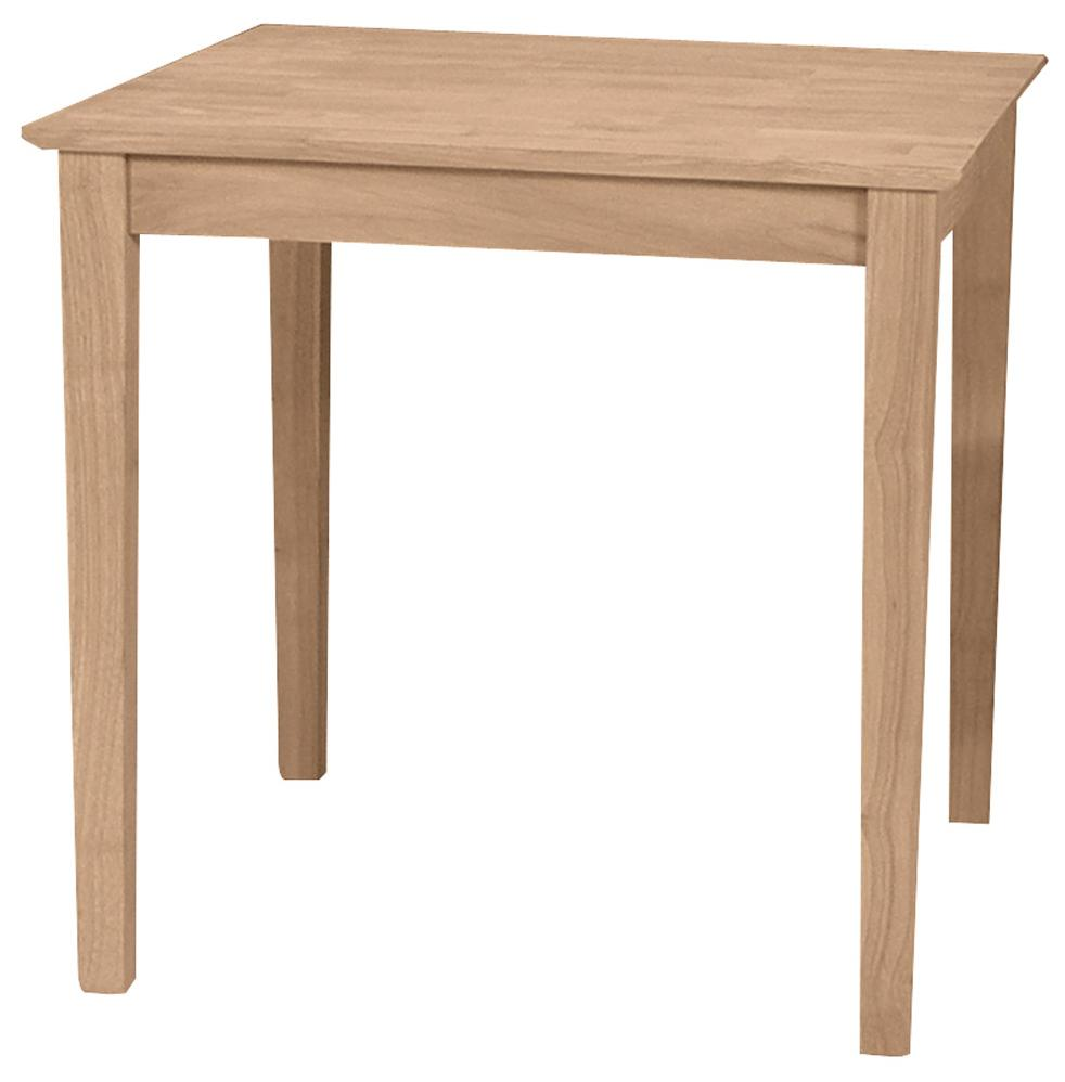 Square Solid Top Shaker Table