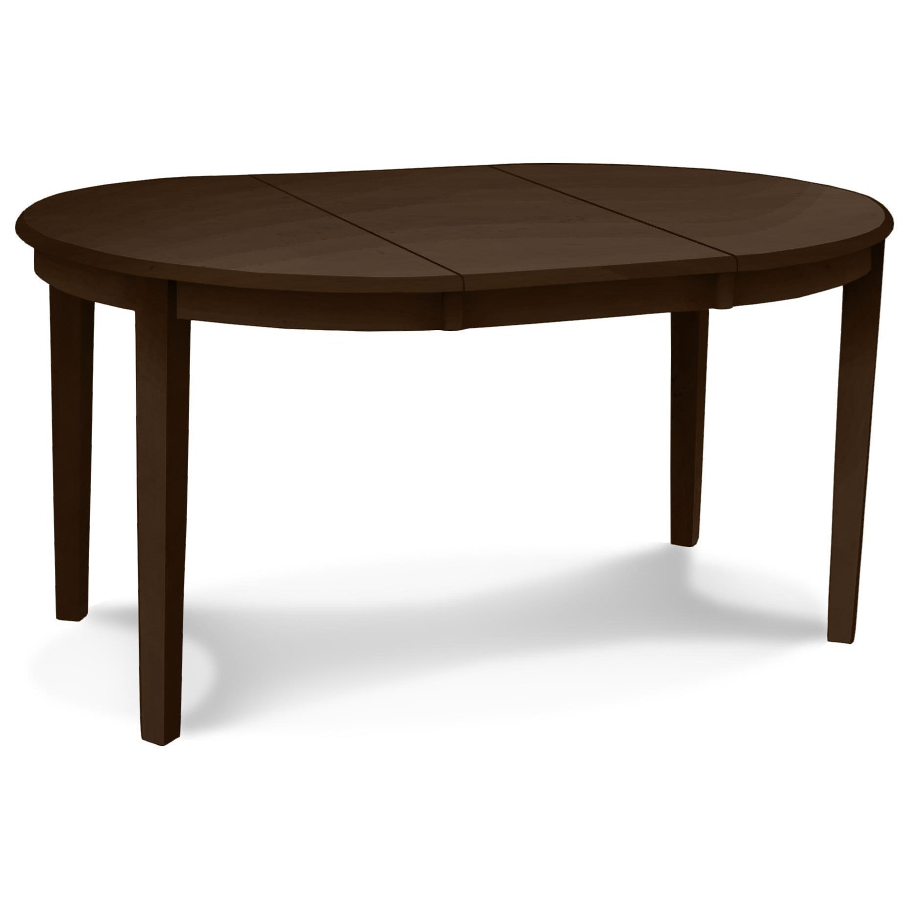 "John Thomas SELECT Dining Emily 42"" Round Table - Item Number: T-42RX-WM40"