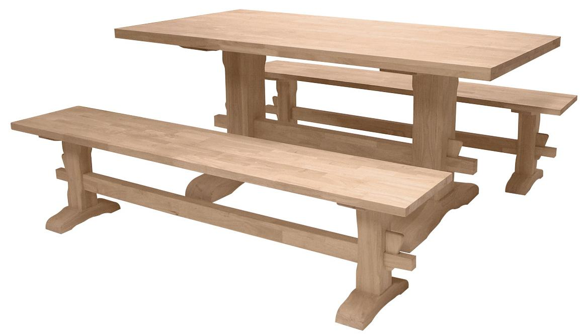 Traditional Trestle Table