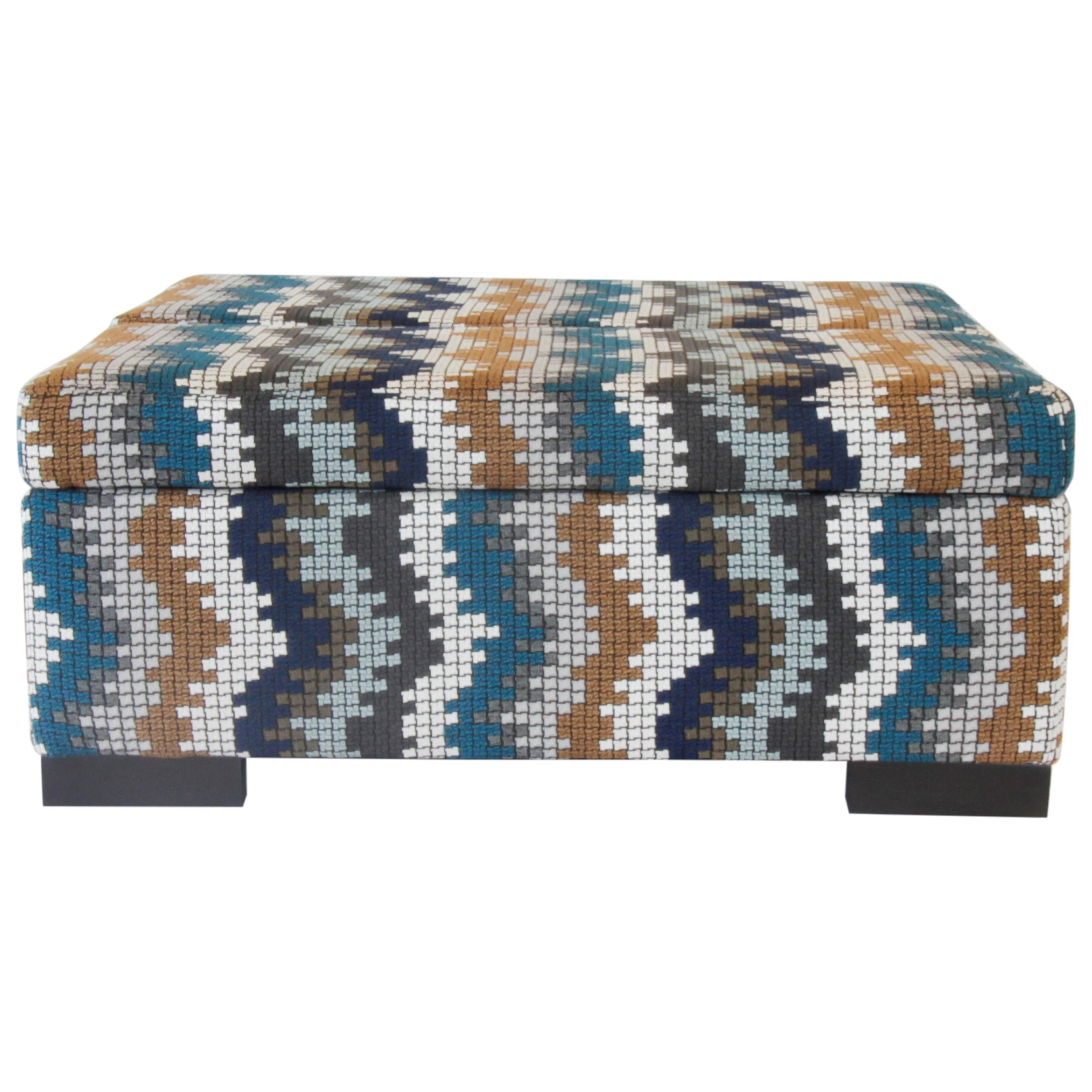Donavan Ottoman by Jonathan Louis at Michael Alan Furniture & Design