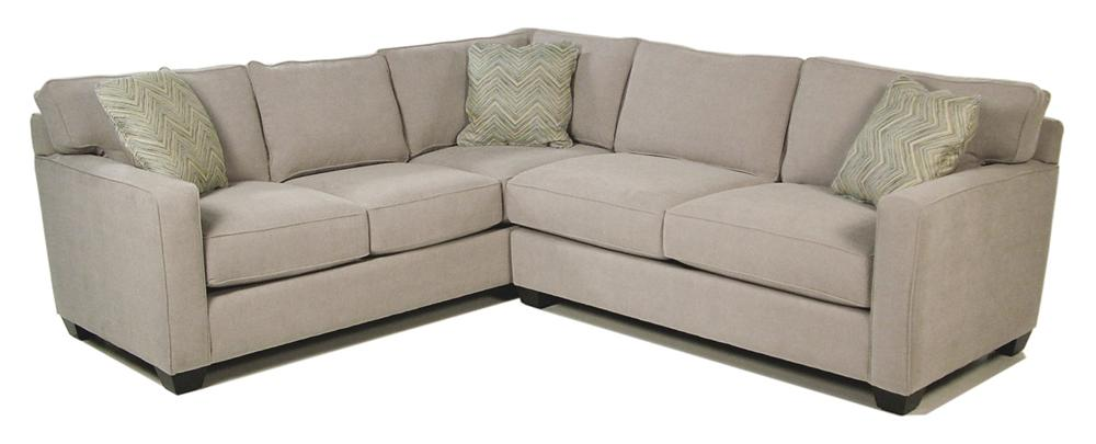 Jonathan Louis Heavenly  2-Piece Stationary Sectional - Item Number: 176632L+626R