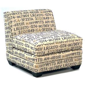 Cisco Lindy  Armless Chair