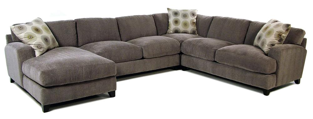 Jonathan Louis Gulliver Casual Contemporary Chaise Sectional - Item Number: 13303+15+26R+82L