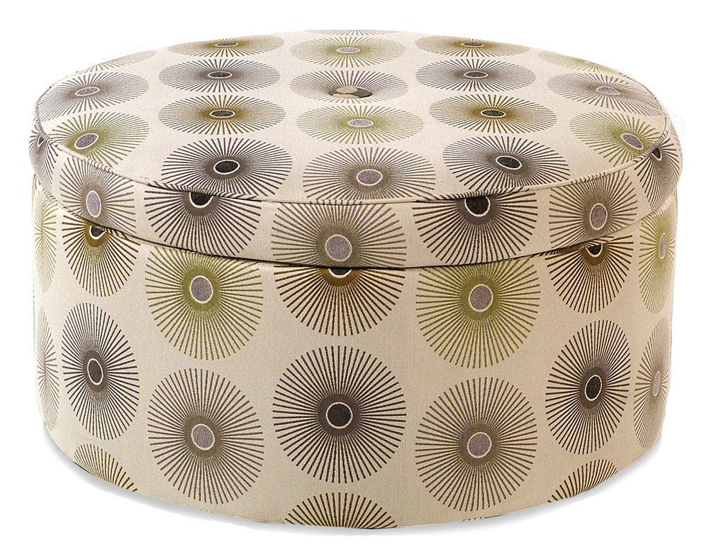 Jonathan Louis Gulliver Round Storage Ottoman - Item Number: 48962