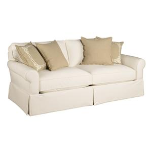 Jonathan Louis 171 Casual Rolled Arm Sofa with Skirting