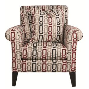 Morris Home Furnishings Lincoln Lincoln Accent Chair
