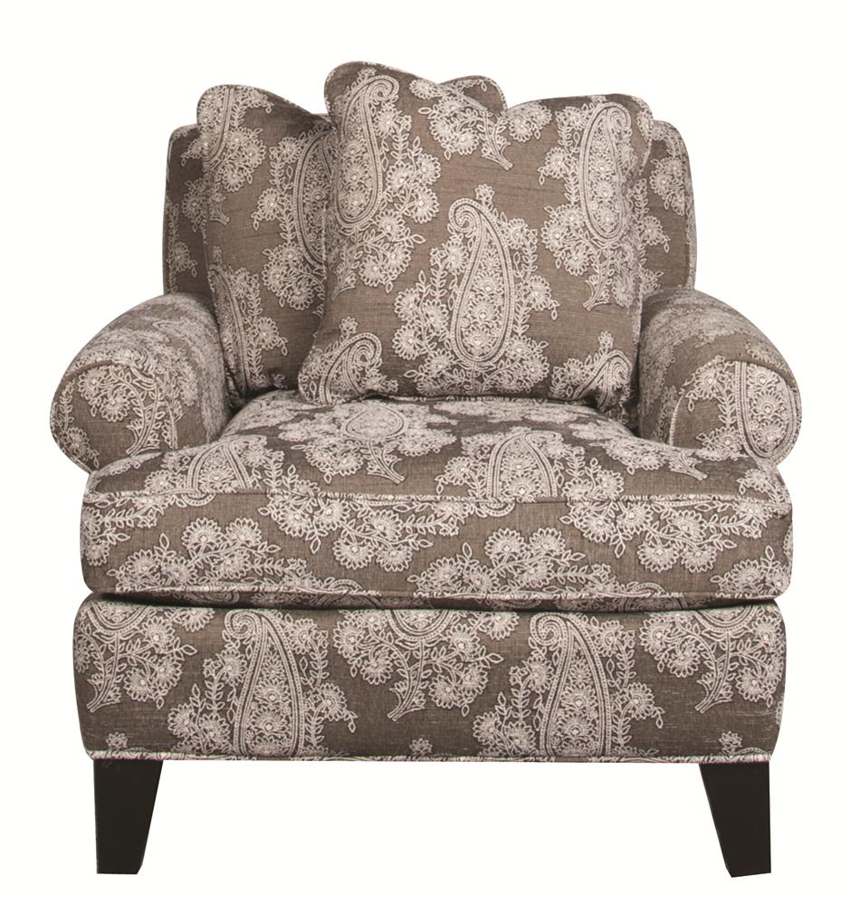 Santa Monica Alexandria Alexandria Accent Chair - Item Number: 152235191