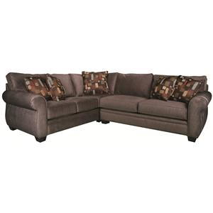 Morris Home Furnishings Alexis Alexis 2-Piece Sectional