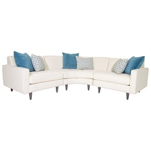 Jonathan Louis Trenton Sectional Sofa