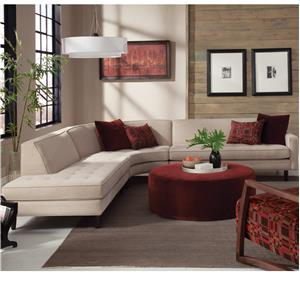 Jonathan Louis Trenton Contemporary Sectional with Chaise