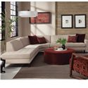 Jonathan Louis Trenton Contemporary Sectional with Chaise - Item Number: 24926L+24911+24928R-Creamer
