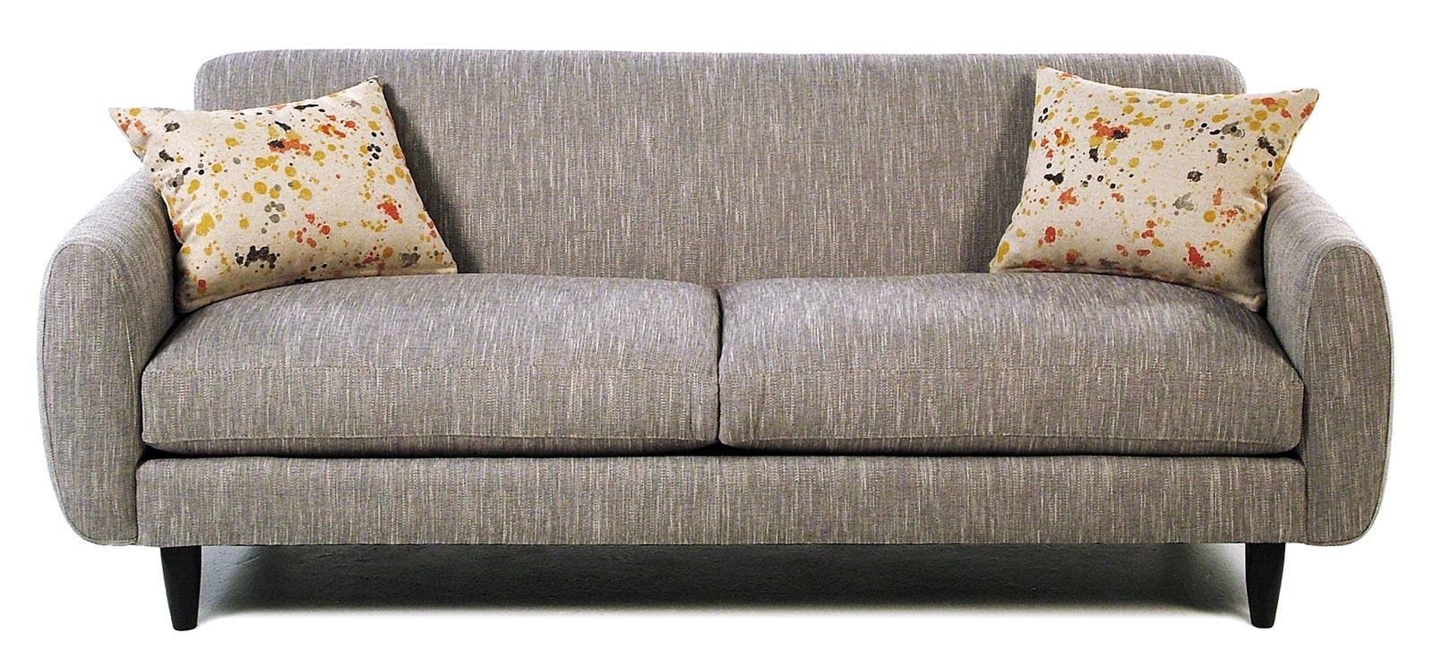 Jonathan Louis Splash Contemporary Sofa - Item Number: 26030-HanniganFog