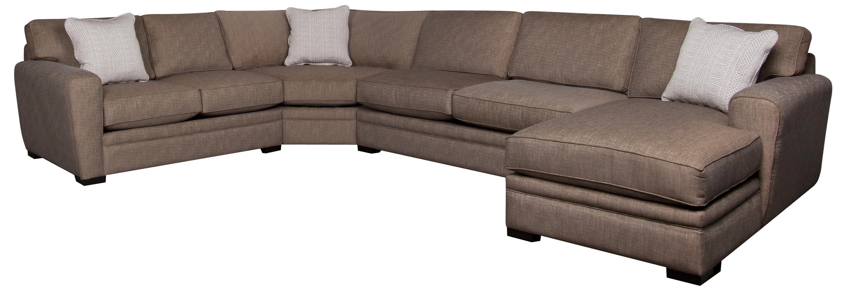 Lexie 4 Piece Sectional Morris Home Sectional Sofas