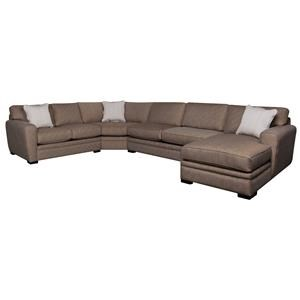 Morris Home Furnishings Lexie Lexie 4-piece Sectional