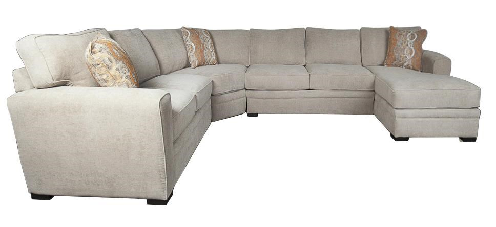 Santa Monica Lexie Lexie Sectional Sofa - Item Number: 344753081