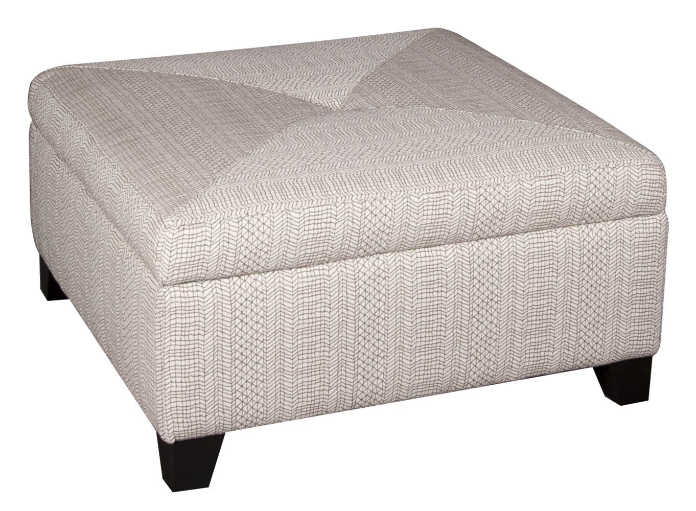 Morris Home Furnishings Lexie Lexie Storage Ottoman - Item Number: 835244989