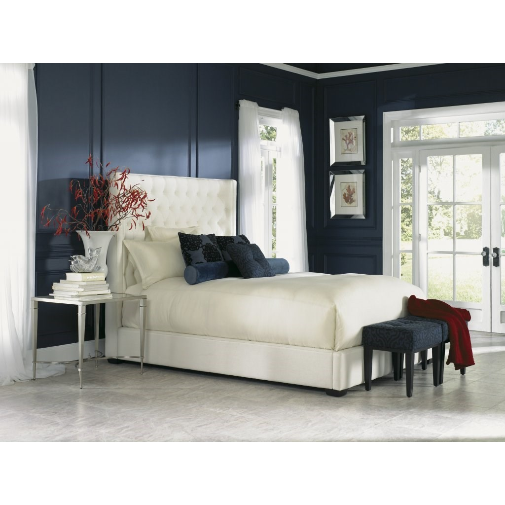 Carly Queen Upholstered Bed by Jonathan Louis at Michael Alan Furniture & Design
